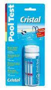 Cristal PoolTest Teststreifen pH + Chlor 50 Teststreifen