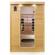 Dewello Infrarotkabine Sauna LAVAL PLUS 135cm x 105cm