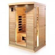 Dewello Infrarotkabine Sauna PIERSON 135cm x 105cm