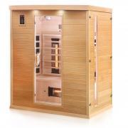 Dewello Infrarotkabine Sauna PIERSON 160cm x 105cm
