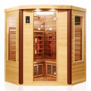 Dewello Infrarotkabine Sauna TORONTO 152cm x 152cm