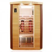 Dewello Infrarotkabine Sauna TTORONTO 127cm x 106cm