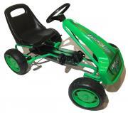 DocGreen Kinder Go-Kart GK17 grün Für Kinder von 4-8 Jahren