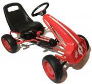 DocGreen Kinder Go-Kart GK17 rot Für Kinder von 4-8 Jahren