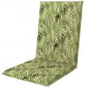 doppler Auflage Midi Sitzauflage Sitzkissen Living 110x48x6cm Blätter