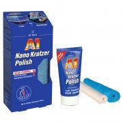 Dr. O.K. Wack Chemie A1 Nano Kratzer Polish 50 ml inkl. Hochleistungs-Poliertuch & Sezialtuch zum Auspolieren Auto