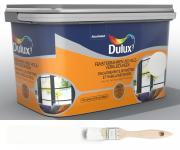 Dulux Fresh up Renovierfarbe für Fensterrahmen + Holzverkleidung satiniert Weiß 2 L