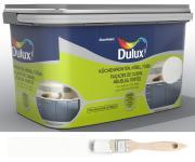 Dulux Fresh up Renovierfarbe für Küchen Möbel Türen glänzend Weiß 2 L