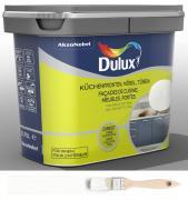 Dulux Fresh up Renovierfarbe für Küchen Möbel Türen satiniert Weiß 0,75 L