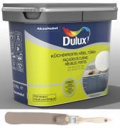 Dulux Fresh up Renovierfarbe für Küchen Möbel Türen glänzend Taupe 0,75 L