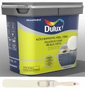 Dulux Fresh up Renovierfarbe für Küchen Möbel Türen satiniert Helles Leinen 0,75 L