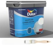 Dulux Fresh up Renovierfarbe für Wandfliesen in Bad und Küche glänzend Weiß 0,75 L