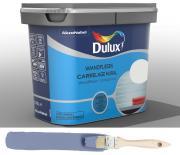 Dulux Fresh up Renovierfarbe für Wandfliesen in Bad und Küche satiniert Denim Blue 0,75 L