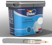 Dulux Fresh up Renovierfarbe für Wandfliesen in Bad und Küche satiniert Titanium 0,75 L