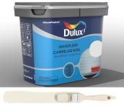 Dulux Fresh up Renovierfarbe für Wandfliesen in Bad und Küche glänzend Helles Leinen 0,75 L