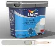 Dulux Fresh up Renovierfarbe für Wandfliesen in Bad und Küche glänzend H-Perlgrau 0,75 L