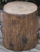 Elementi Abdeckung für Gasflaschen Baumstamm-Optik Eco-Stone für 5 kg Gasbehälter