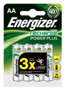 Energizer Akku 2000 mAh, Mignon, 4er Blister