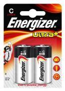 Energizer Batterie C Ultra+ Baby, 2er, Alkaline Premium
