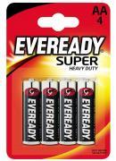 Energizer Eveready Batterien SHD AA Mignon, Carbon Zinc 4 Stück
