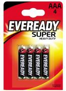 Energizer Eveready SHD AAA Micro 4e, Carbon Zinc, Micro 4er