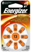 Energizer Turn&Lock Zink-Luft Hörgerätebatterien 13 8Stk.