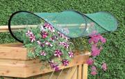 EPH GardenGuard Balkonblumenschutz Pflanzenschutz L 100 x B 45-65 x H 20-30 cm