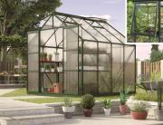 EPH Vitavia Gewächshaus Jupiter 6700 6,7 m² HKP 4mm smaragd