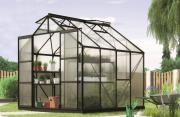 EPH Vitavia Gewächshaus Jupiter 6700 6,7 m² HKP 4mm schwarz