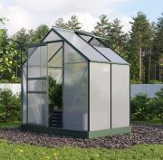 EPH Vitavia Gewächshaus Planet 2500 2,5 m² HKP 6mm smaragd