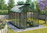 EPH Vitavia Gewächshaus Triton 6200 6,3 m² HKP 4 mm Smaragd pulverbeschichtet