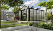 EPH Vitavia Gewächshaus Zeus Comfort 11900 Gatenhaus Pflanzenhaus ESG/HKP schwarz