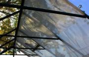 EPH Vitavia Zubehör Schattiergewebe Schattierungsnetz PE-Gewebe 1,83 x 2,59 m weiß