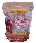 Favorit Zündwolle Grillanzünder, Kaminanzünder, Ofenanzünder Öko/Bio 1kg Beutel