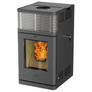 Fireplace Pelletofen Kaminofen Gravio Automatik Stahl für Pellet (8 kW)