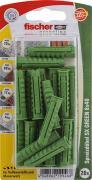 fischer Dübel Spreizdübel Allzweckdübel SX GREEN 8x40 K 20 Stück