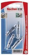 fischer Hohlraum-Metalldübel HM 6x37 S K 4 Stück