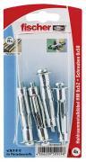 fischer Hohlraum-Metalldübel HM 6x52 S K 4 Stück