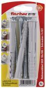 fischer Langschaftdübel Rahmendübel SXR 10x100 T K 4 Stück