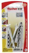fischer Langschaftdübel Rahmendübel SXR 10x60 SS K 4 Stück