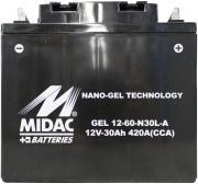 Güde Batterie Gel für Stromerzeuger GSE 5501 DSG
