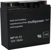 Güde Batterie MP 18-12 / 12 V 18 AH für Güde diverse Stromerzeuger