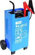 Güde Batterielader V 421 C Batterieladegerät Starthilfe Autostarter 12 & 24 V