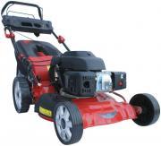 Güde Benzin Rasenmäher Big Wheeler 460 ES 456 mm Schnittbreite mit 65 l Fangsack Elektrostart 3,7 PS