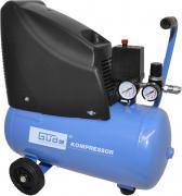Güde Druckluft Kompressor 220/08/24 230 V 1,1 kW Industriekompressor Luftdruck Hochdruck 8 Bar ölfrei