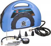 Güde Druckluft Kompressor-Kompakt-Set- 180/08 11-tlg. 1,1 kW Luftdruck Hochdruck 8 Bar ölfrei