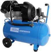 Güde Druckluft Kompressoren-Set 401/10/50 ölgeschmiert 46-tlg. inkl. Schlagschrauber + Meißelhammer + Klammergerät + Spritzpistole + Reifenfüller