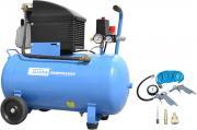 Güde Druckluft Kompressorset 301/10/50 7-teilig 230 V 1,8 kW Industriekompressor Luftdruck Hochdruck 10 Bar Ölschmierung