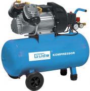 Güde Druckluft Kompressorset 400/10/50 DG 15-teilig 230 V 2,2 kW Industriekompressor Luftdruck Hochdruck 10 Bar Ölschmierung