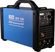 Güde Inverter-Schweißgerät GIS 160 WIG/HF Elektrodenschweißgerät Schweisser Schweißer 230 V inkl. Schild und Zubehör